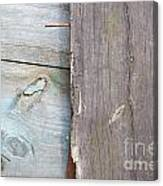 Weathered Wooden Boards Canvas Print