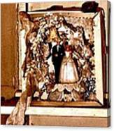 Wedding Bell Blues Canvas Print
