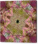 Wedding Bell Pink Daisies Canvas Print