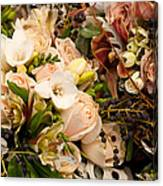 Wedding Bouquets 01 Canvas Print