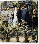 Wedding Party, 1897 Canvas Print