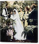 Wedding Party, 1900 Canvas Print