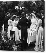 Wedding Party, 1904 Canvas Print