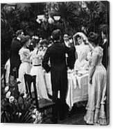Wedding Party, 1904 Canvas Print