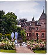 Wedding Setting In De Haar Castle. Utrecht Canvas Print