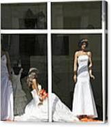 Wedding Shop In Tbilisi Canvas Print