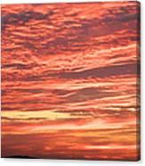Wedding Sunset Canvas Print