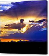 Wedge Of Light Canvas Print