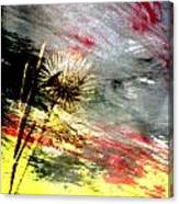 Weed Abstract Blend 2 Canvas Print