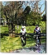 Weekend Riders Canvas Print
