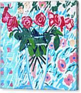 Weekend Roses Canvas Print