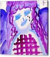 ...weeping Angel... Canvas Print