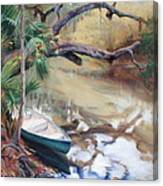 Wekiva Autumn Canvas Print