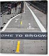 Welcome To Brooklin Canvas Print