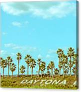 Welcome To Daytona Beach Canvas Print