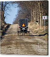 Welcome To Elkart County Canvas Print