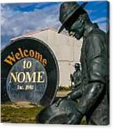Welcome To Nome Canvas Print
