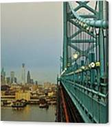 Welcome To Philly Canvas Print