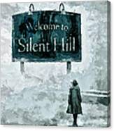 Welcome To Silent Hill Canvas Print