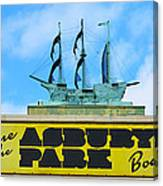 Welcome To The Asbury Park Boardwalk Canvas Print