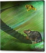 Welcome To The Race...... Canvas Print