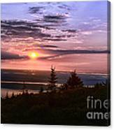Welcoming A New Day Canvas Print
