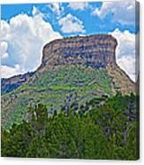 Welcoming Mesa To Mesa Verde National Park-colorado- Canvas Print
