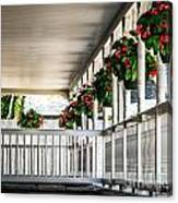 Welcoming Porch Canvas Print