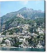 Welcoming Positano Canvas Print