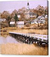 Wellfleet Golden Morn Canvas Print