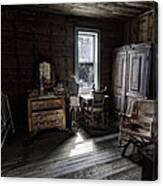 Wells Hotel Bridal Suite - Garnet Ghost Town - Montana Canvas Print