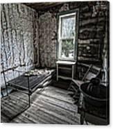 Wells Hotel Room 2 - Garnet Ghost Town - Montana Canvas Print