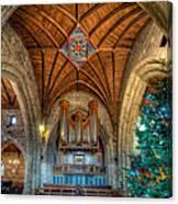 Welsh Christmas Canvas Print