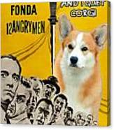 Welsh Corgi Pembroke Art Canvas Print - 12 Angry Men Movie Poster Canvas Print