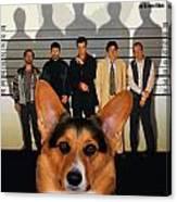 Welsh Corgi Pembroke Art Canvas Print - The Usual Suspects Movie Poster Canvas Print