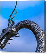 Welsh Dragon Head Canvas Print