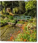 Welsh Garden Canvas Print