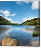 Welsh Lake Canvas Print