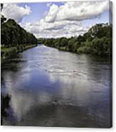 Welsh River Scene Canvas Print