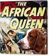 Welsh Springer Spaniel Art Canvas Print - The African Queen Movie Poster Canvas Print