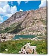 Weminuche Wilderness Area Landscape Canvas Print