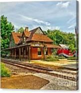 Wenonah Train Station Canvas Print