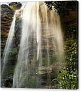 Wentworth Waterfall Blue Mountains Canvas Print