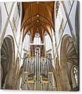 Wesel Organ Canvas Print