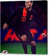 Wesley Sneijder  Canvas Print