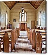 Wesleyan Methodist Church Canvas Print