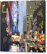 West 42nd Street Canvas Print