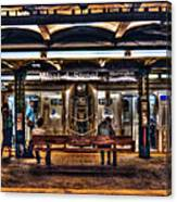 West 4th Street Subway Canvas Print