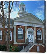West Avenue Library Canvas Print