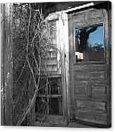 West Barnstable Door Canvas Print